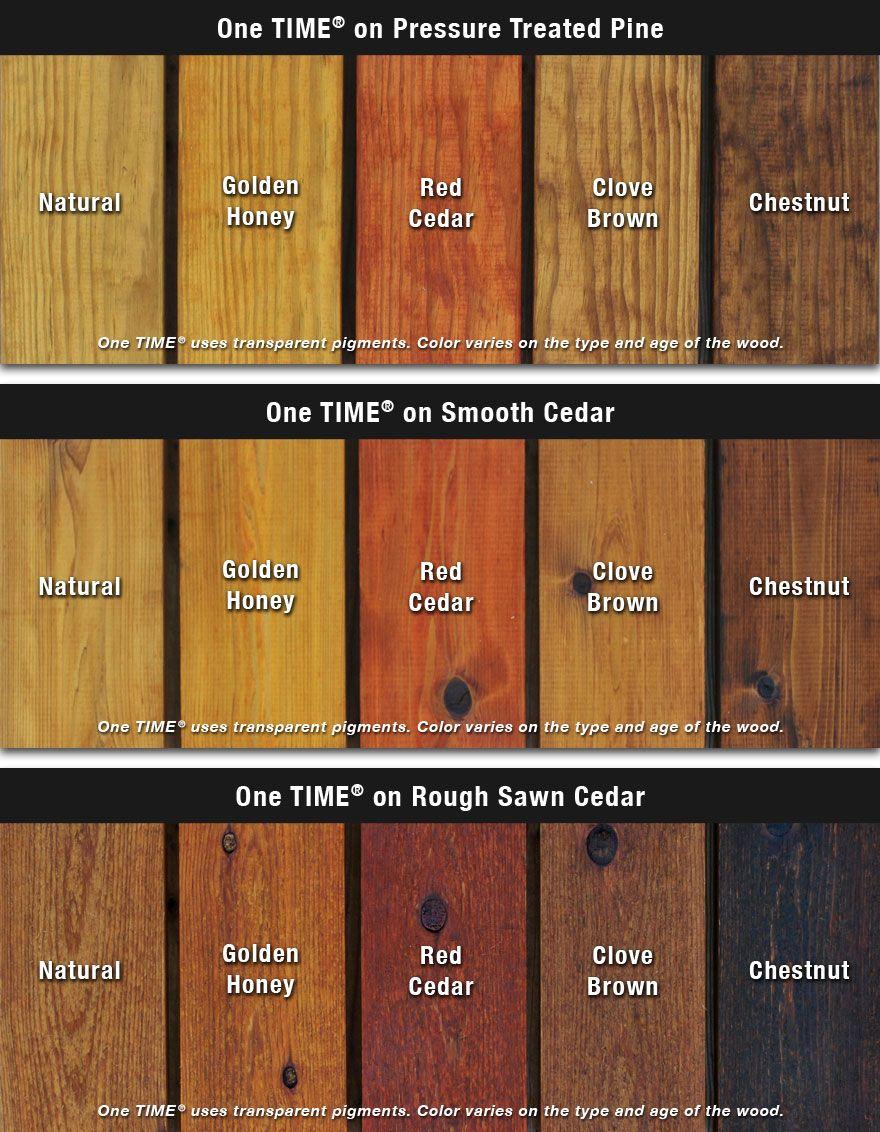 Thompson deck stain color chart decks ideas