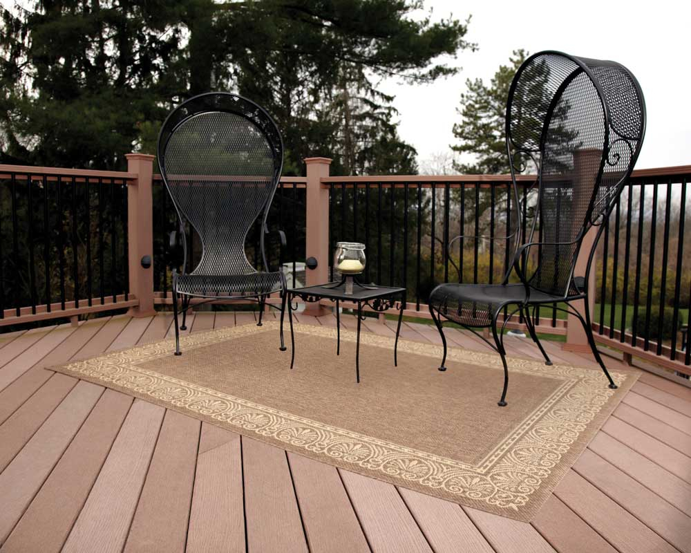 Outdoor Deck Mats Rugs Decks Ideas
