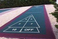 Outdoor Shuffleboard Court Outdoor Ideas intended for measurements 2592 X 1936