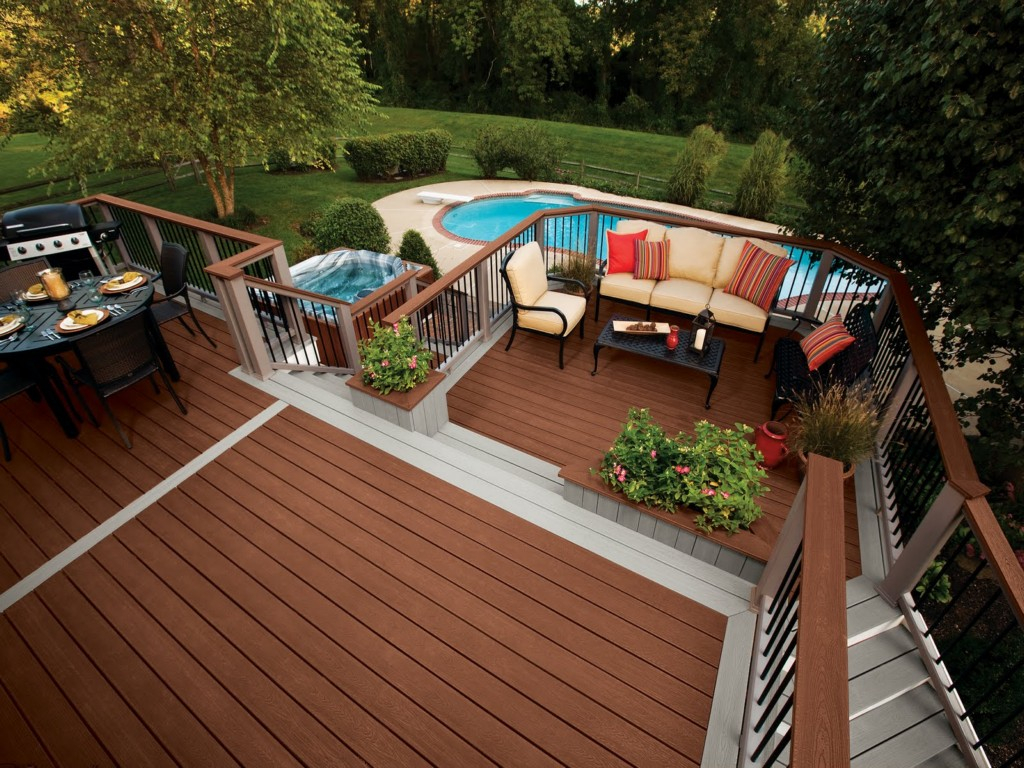 Pool Deck Decorations • Decks Ideas