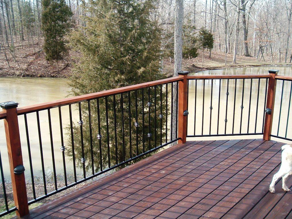 Prefab Metal Deck Railing Decks Ideas