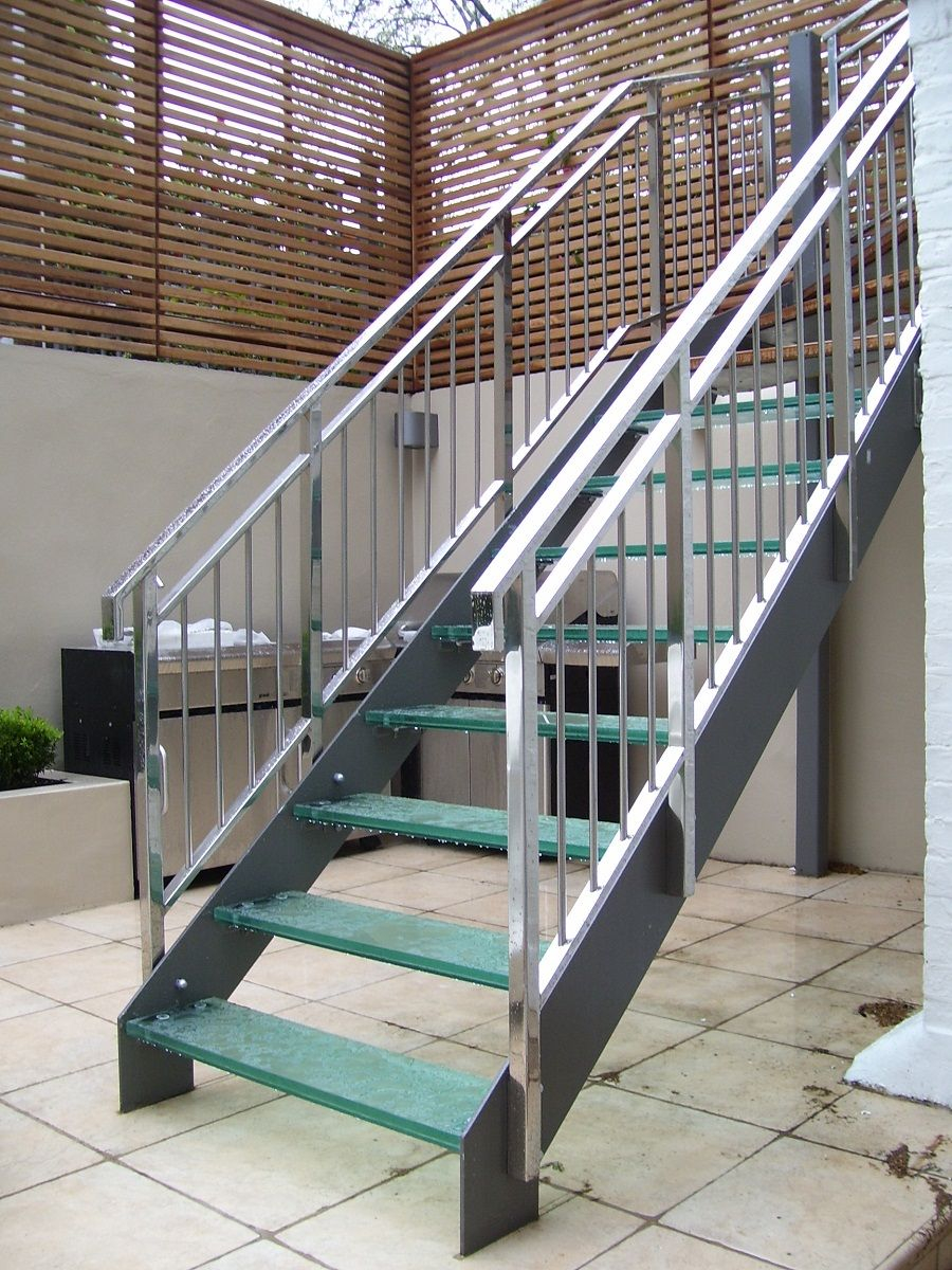 Prefab Metal Deck Stairs • Decks Ideas
