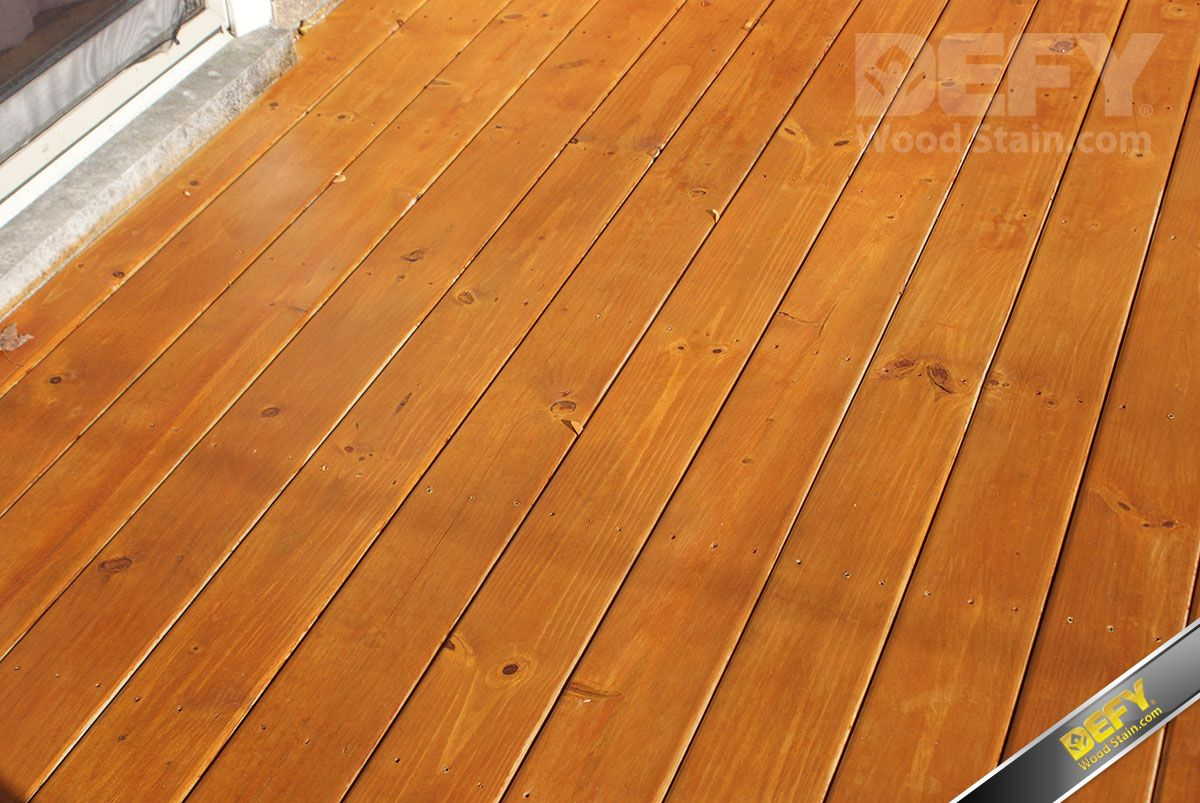 Pressure Treated Deck Stained With Defy Extreme Wood Stain Cedar For Dimensions 1200 X 803
