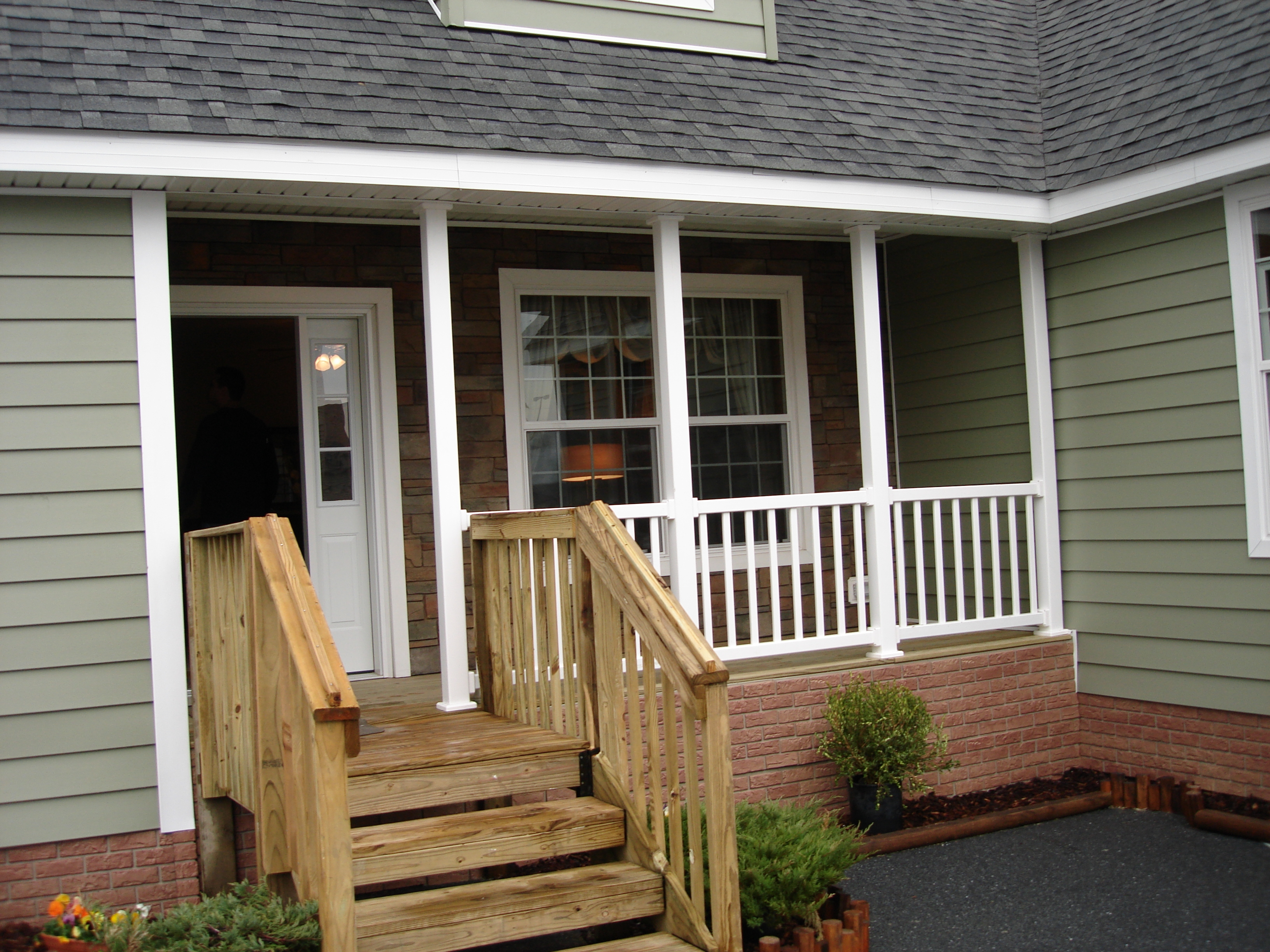 Railing Stunning Design Of Porch Railing Ideas