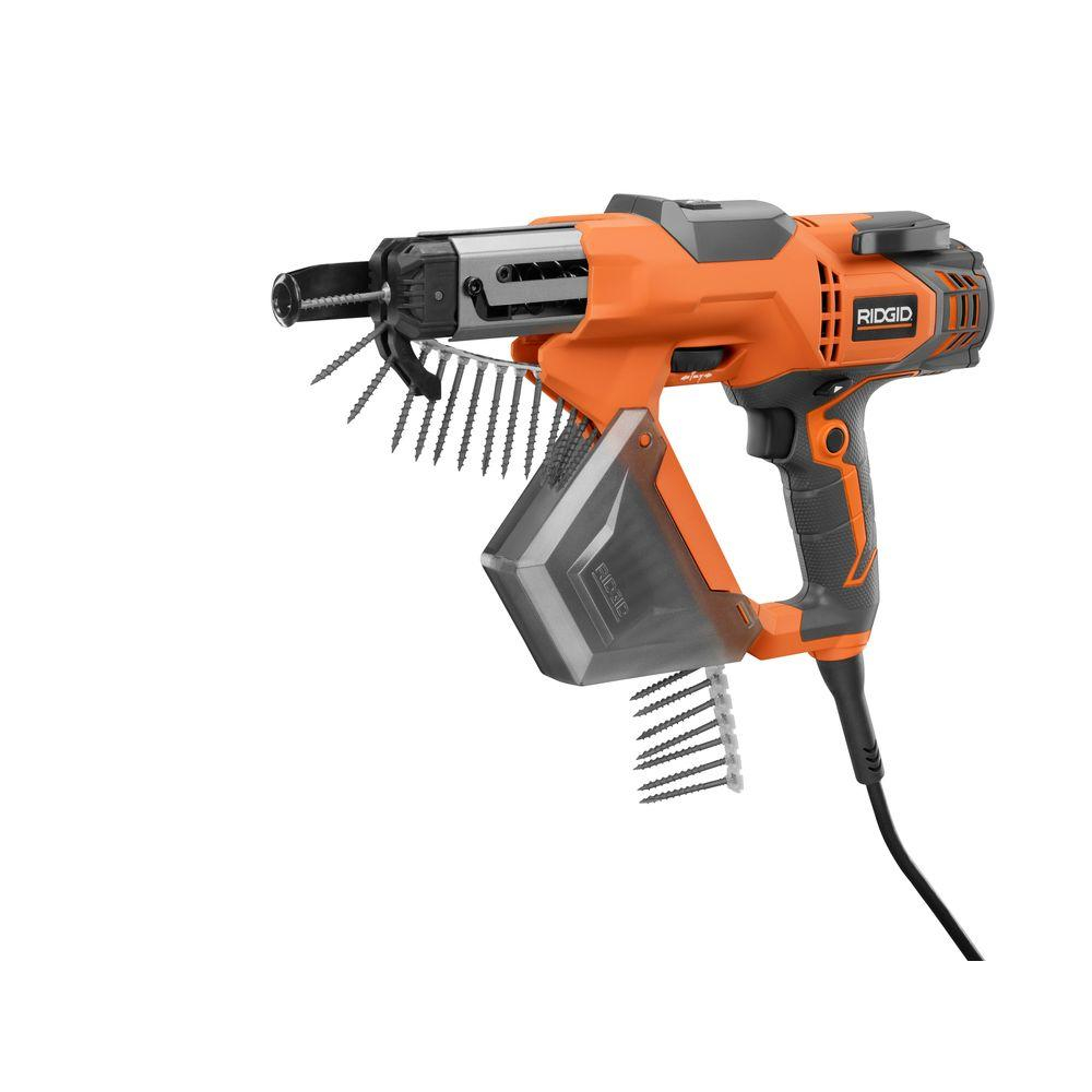 Ridgid 3 In Drywall And Deck Collated Screwdriver R6791 The Home regarding dimensions 1000 X 1000
