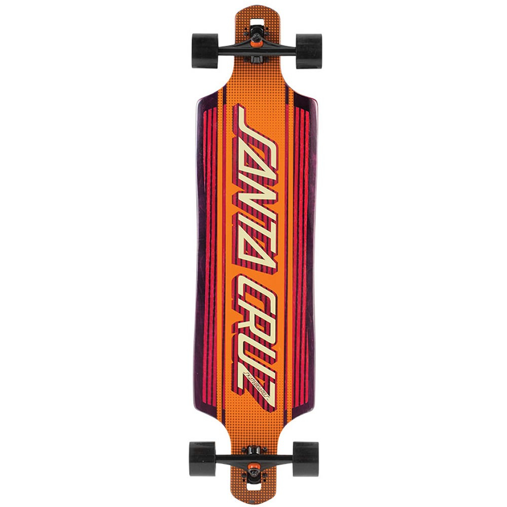 Santa Cruz Strip Inlay 40 X 10 Drop Thru Longboard with regard to sizing 1000 X 1000