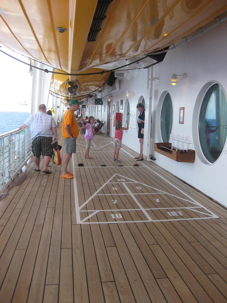 Shuffleboard On Deck 4 Cruising Goddess pertaining to measurements 768 X 1024