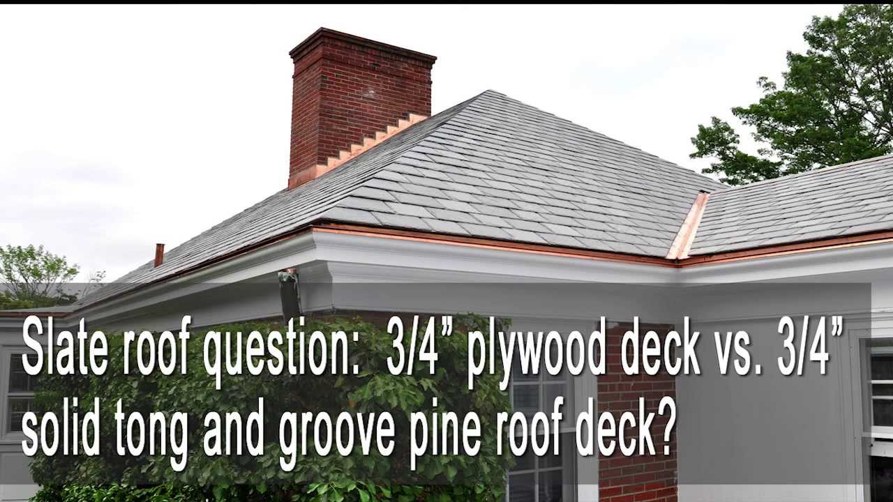Tongue And Groove Plywood Roof Decking Decks Ideas