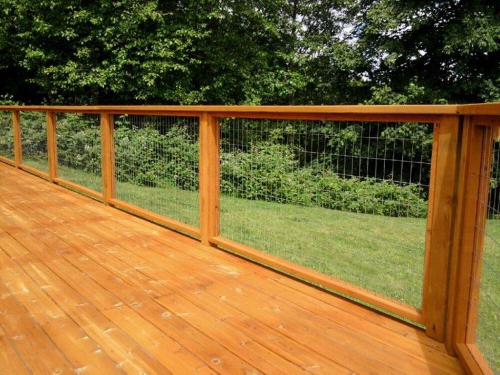 Wire Mesh Deck Railing Panels • Decks Ideas