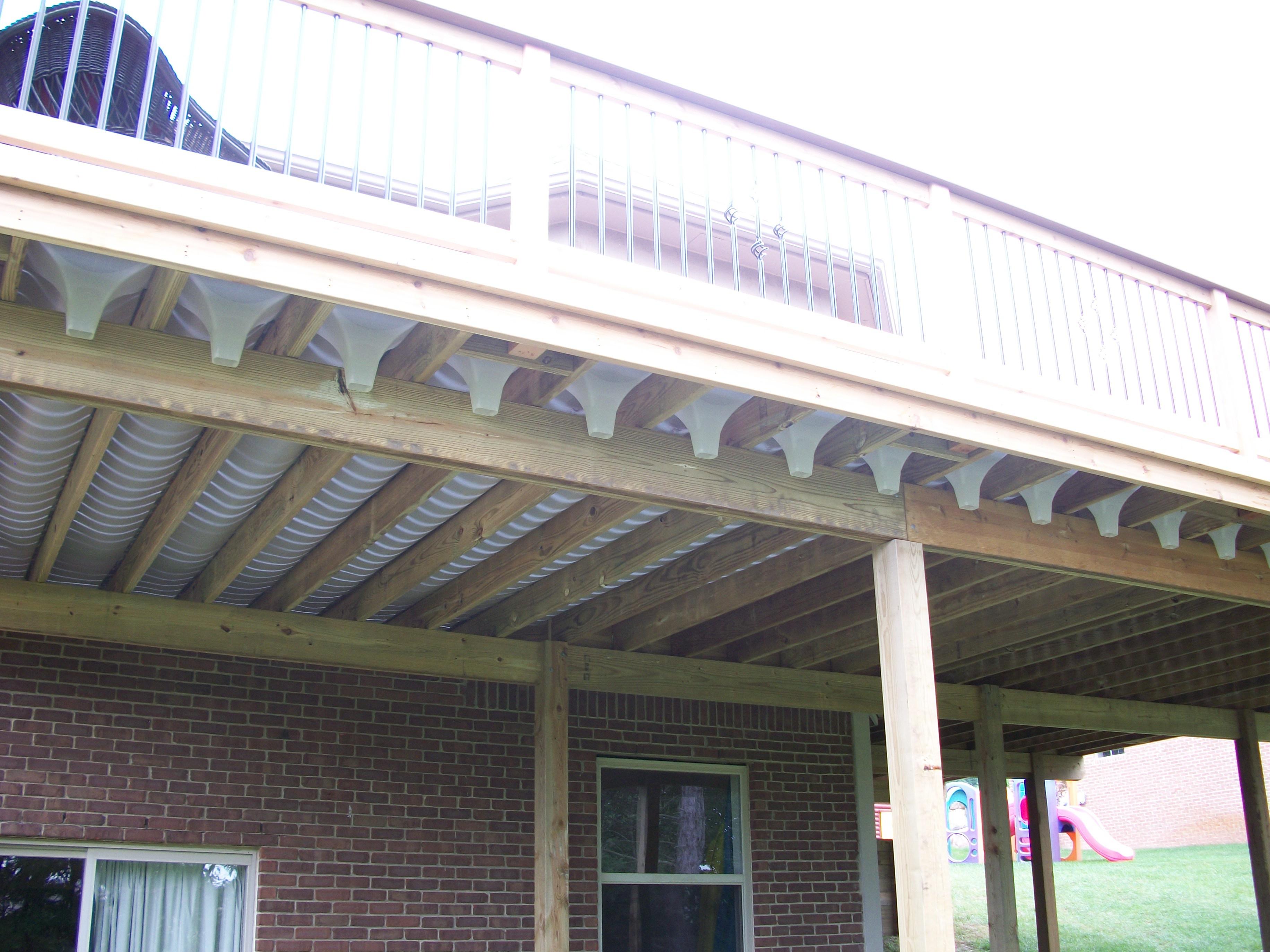 Under Deck Gutter Decks Ideas