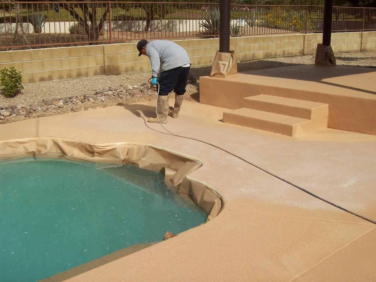 Swimming Pool Deck Coatings Doherty House Best With Regard To Measurements 1319 X