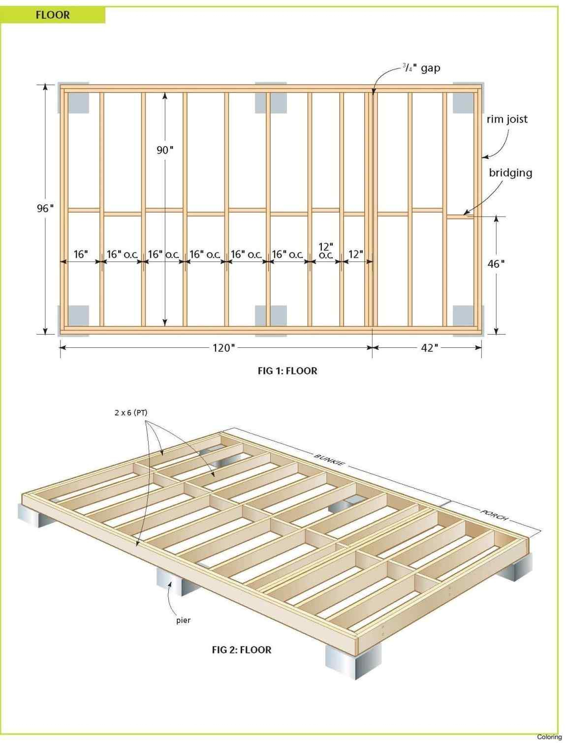 Free 12x24 Deck Plans  U2022 Decks Ideas