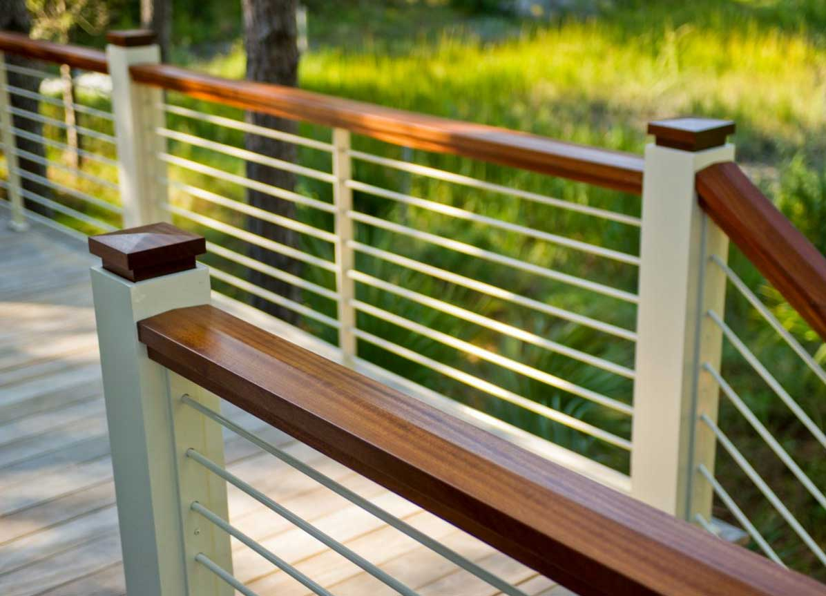 Thinking about using horizontal deck railing railing stairs and pertaining to measurements 1196 x 863