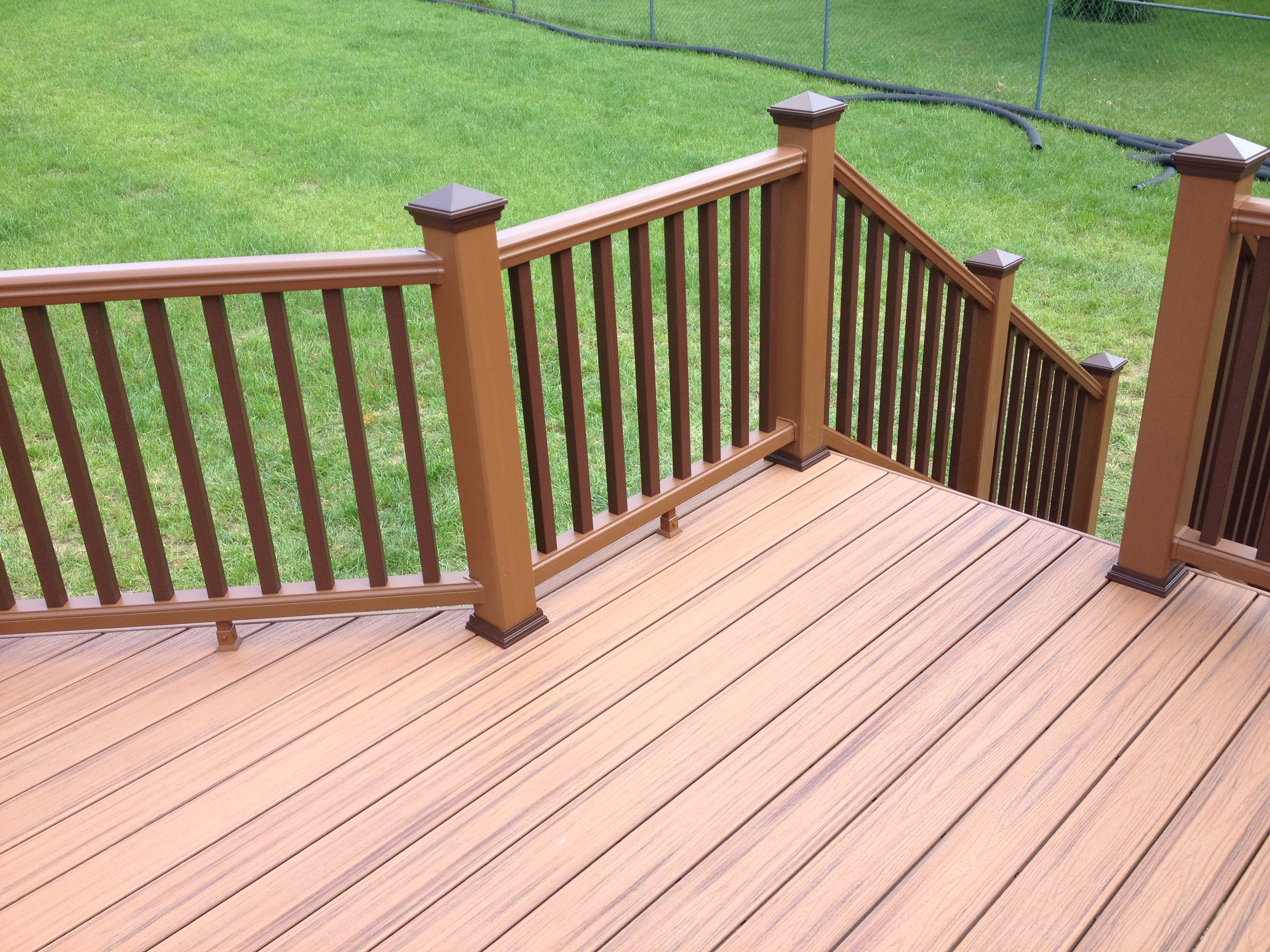 Tiki Torches Around Deck Decks Ideas with size 3264 X 2448