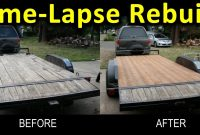 Time Lapse Trailer Deck Rebuild Narrated Gopro Pics At 2 Second intended for measurements 1606 X 828