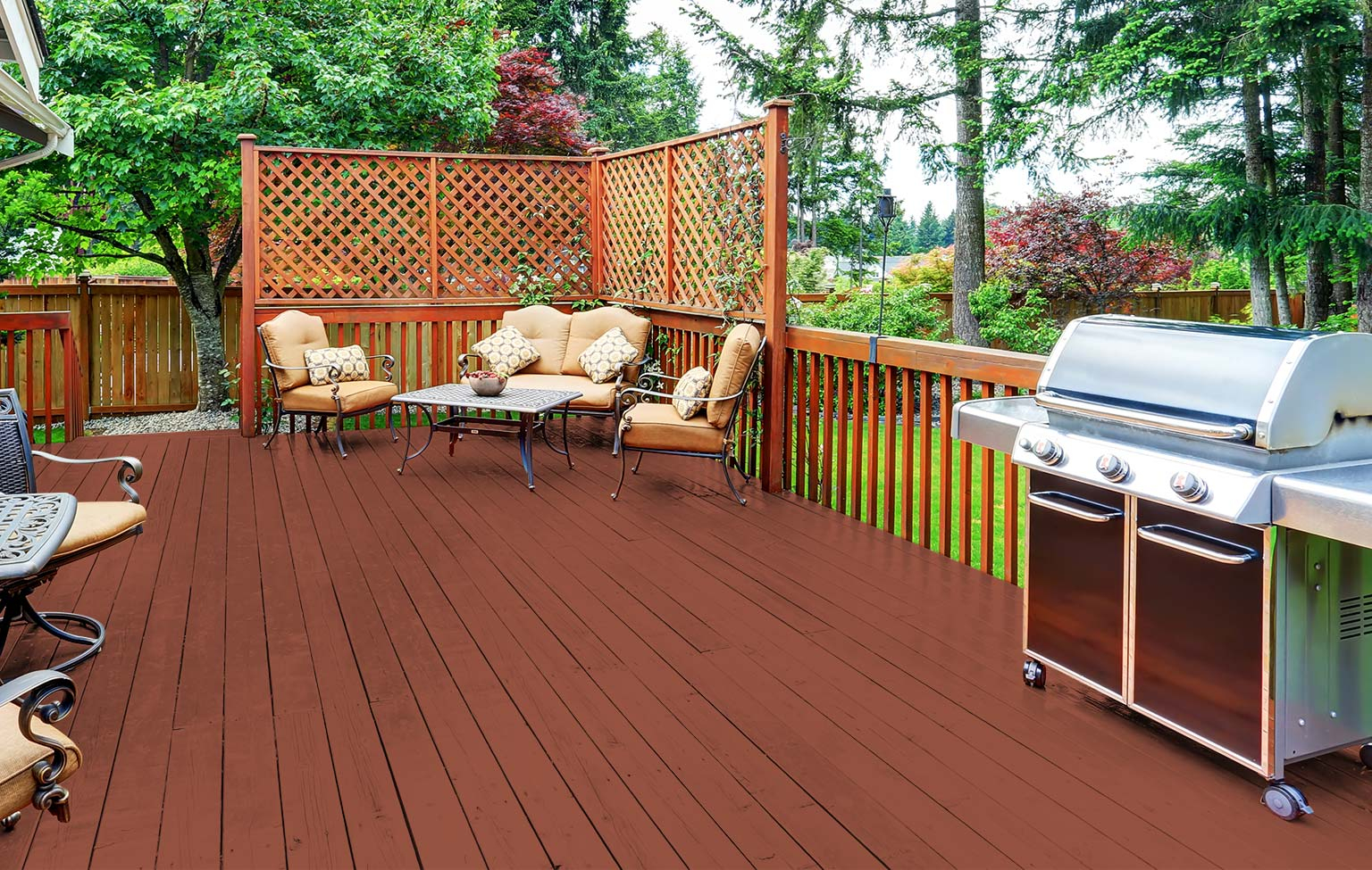 Top Trending Stain Colors For Outdoor Spaces inside sizing 1536 X 975