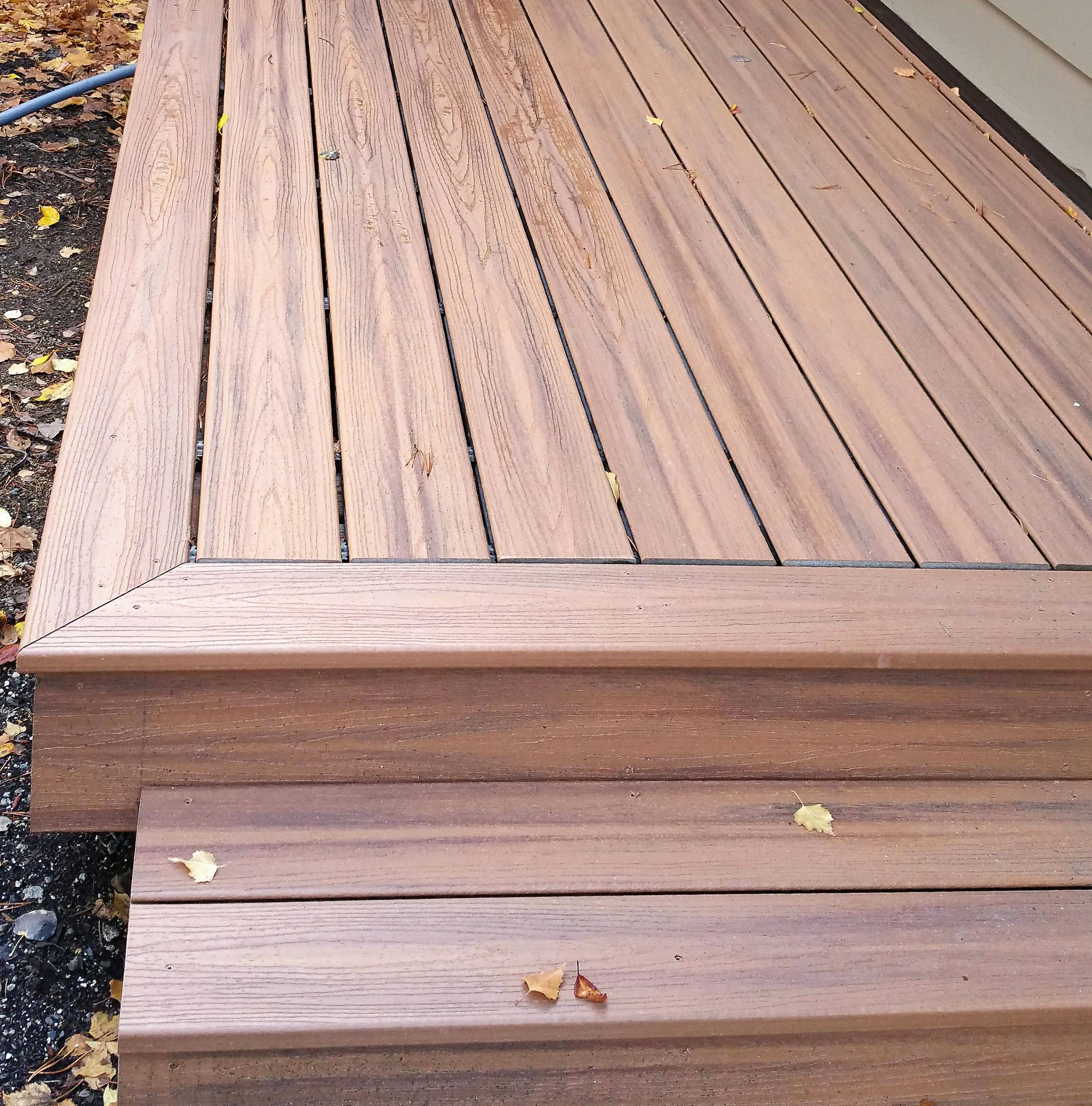 Trex Decking Bend Interior Exterior Painting Deck Refinishing regarding sizing 2550 X 2582