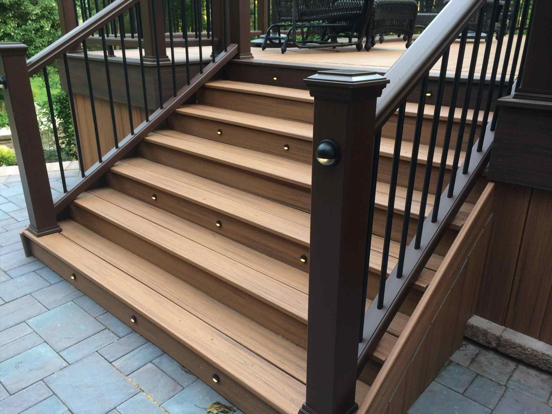 Merveilleux Trex Decking Stair Stringer Spacing Decks Ideas In Proportions 1900 X 1425