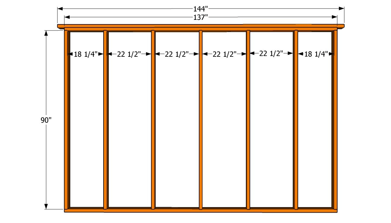 Valuable 12x12 Deck Plans Build A 16x12 Shed Free And Materials List Pertaining To Sizing 1280