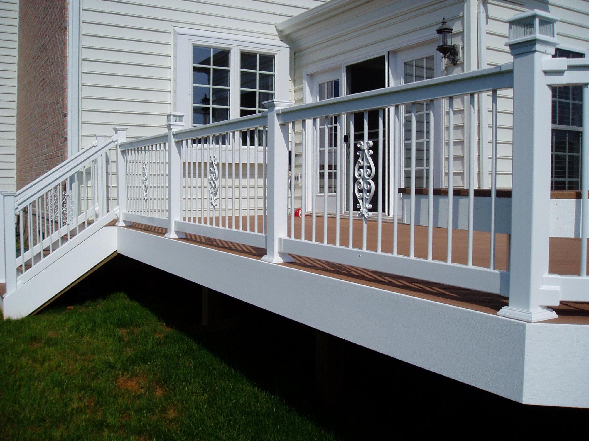 Veranda Decks Deck Railing Height For Veranda Deck Railing Greenite within dimensions 2007 X 1505