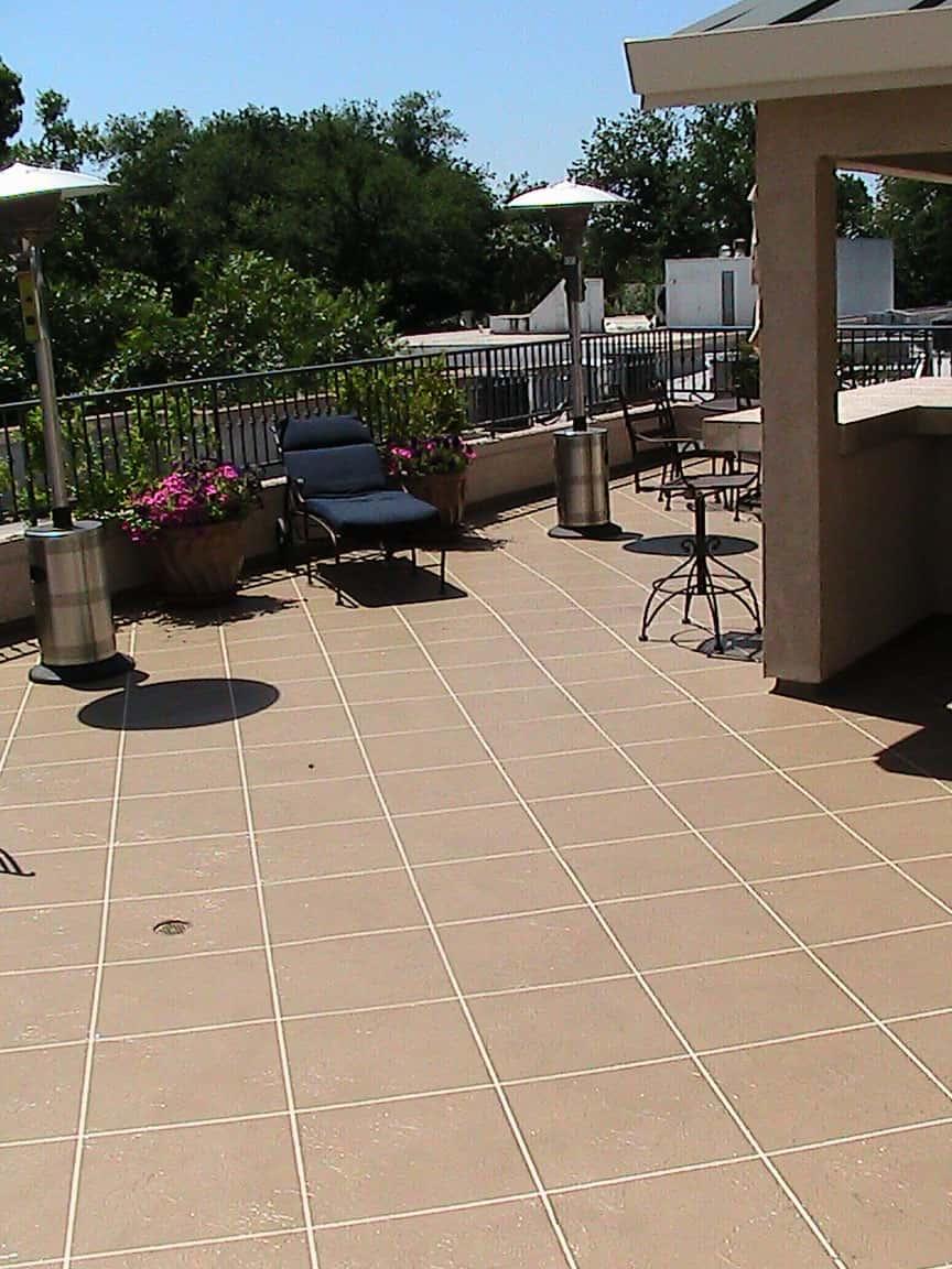 Waterproof Deck Membrane Tile Decks Design in proportions 864 X 1152