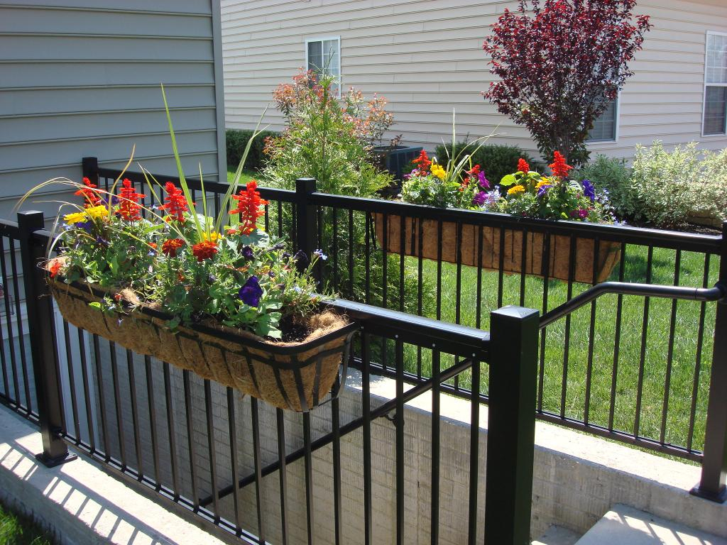 Window Boxes For Deck Railing Decks Ideas intended for proportions 1024 X 768