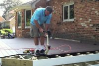 Wolf Decking Installed With Cortex Plugs And Hid Fast Fastening throughout proportions 1280 X 720