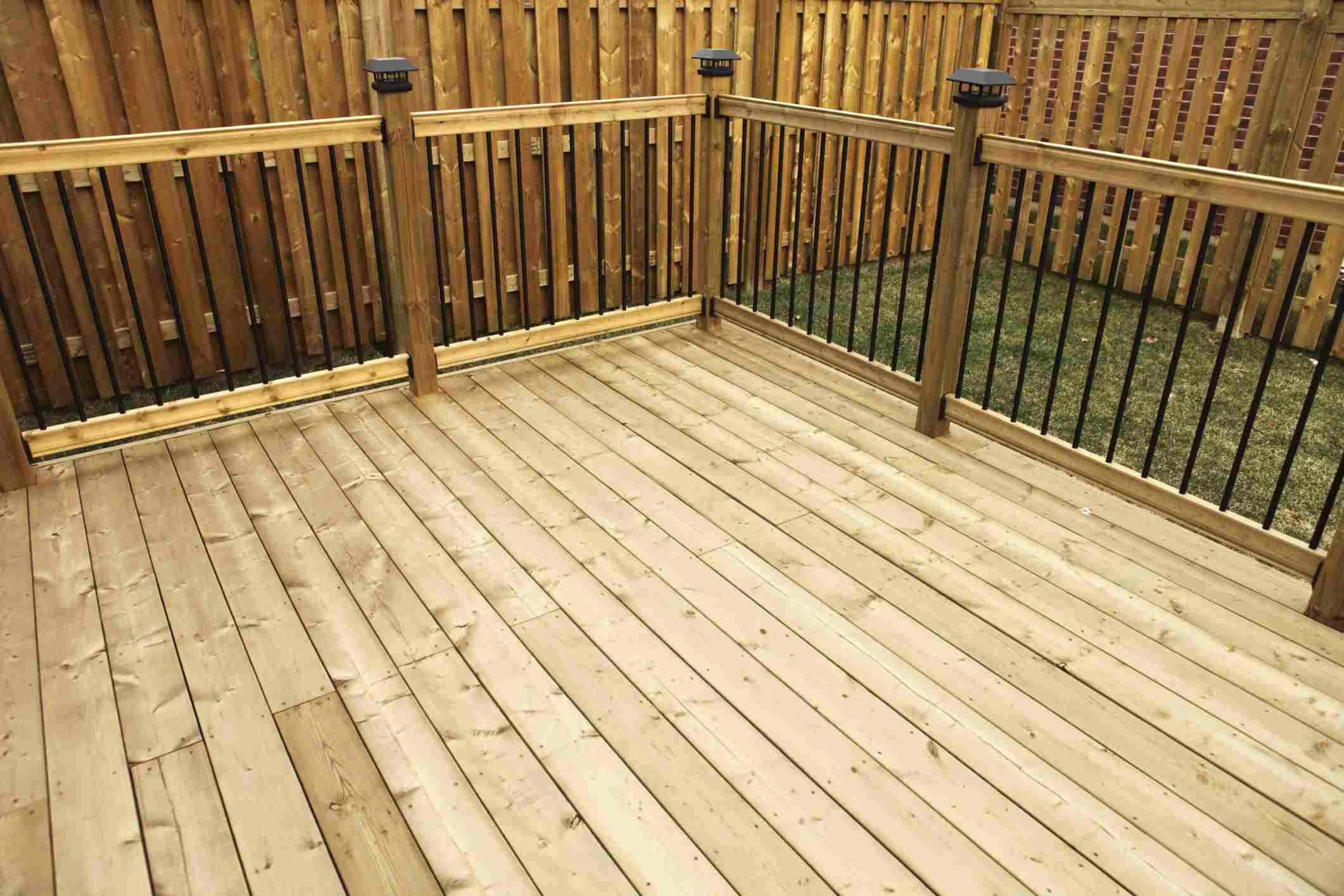 Wood And Composite Decking Pros And Cons pertaining to size 2122 X 1415
