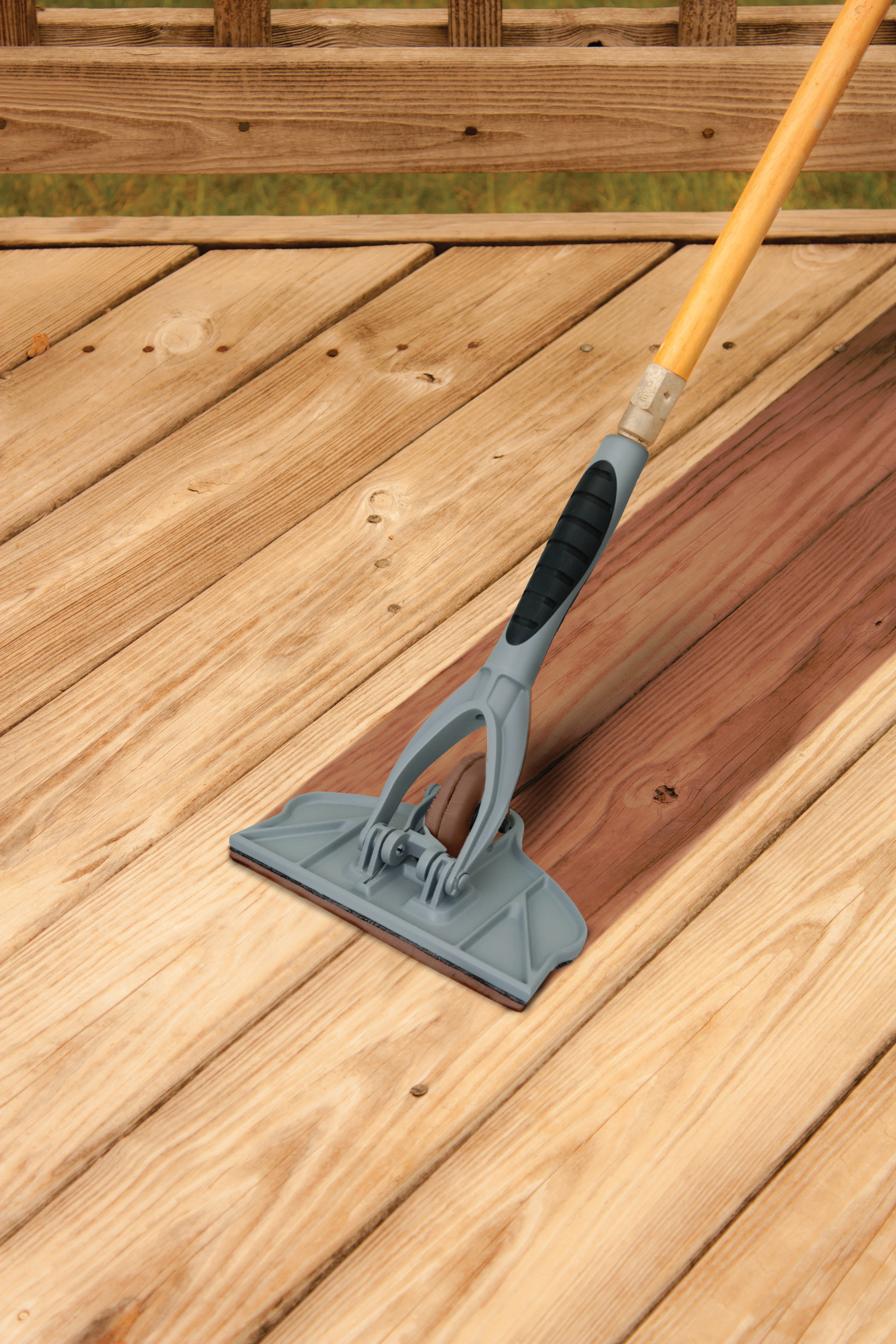 Wood Deck Decking Wood Stain Deck Brush For Stain Lovable Decking throughout proportions 2848 X 4272