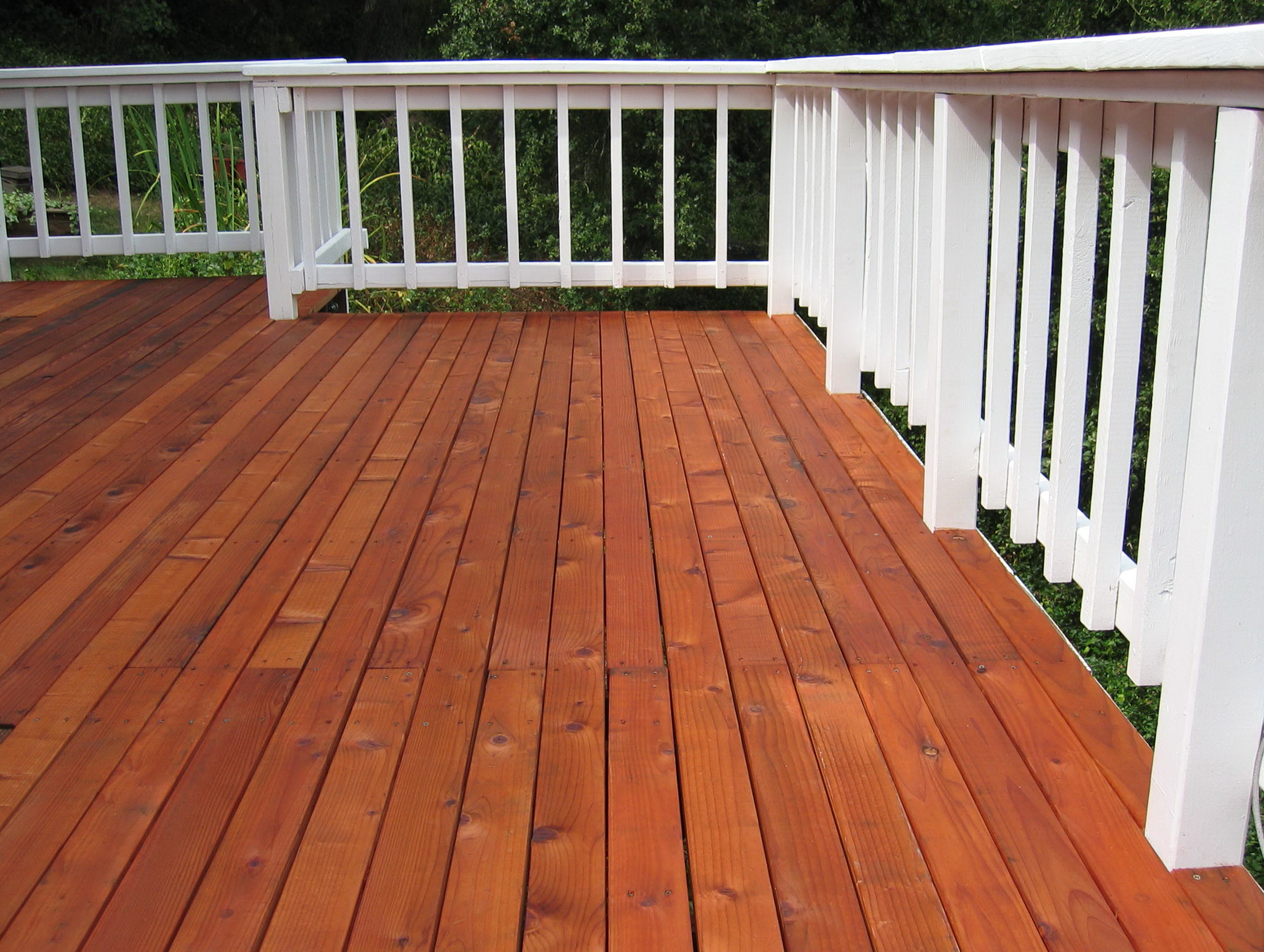 Wood Deck Stains Pressure Treated Decks Ideas within proportions 2208 X 1663