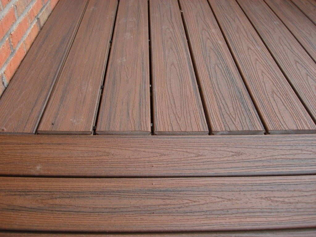Wood Deck Trex Top Rated Composite Decking Decks Pertaining To Size 1024 X 768