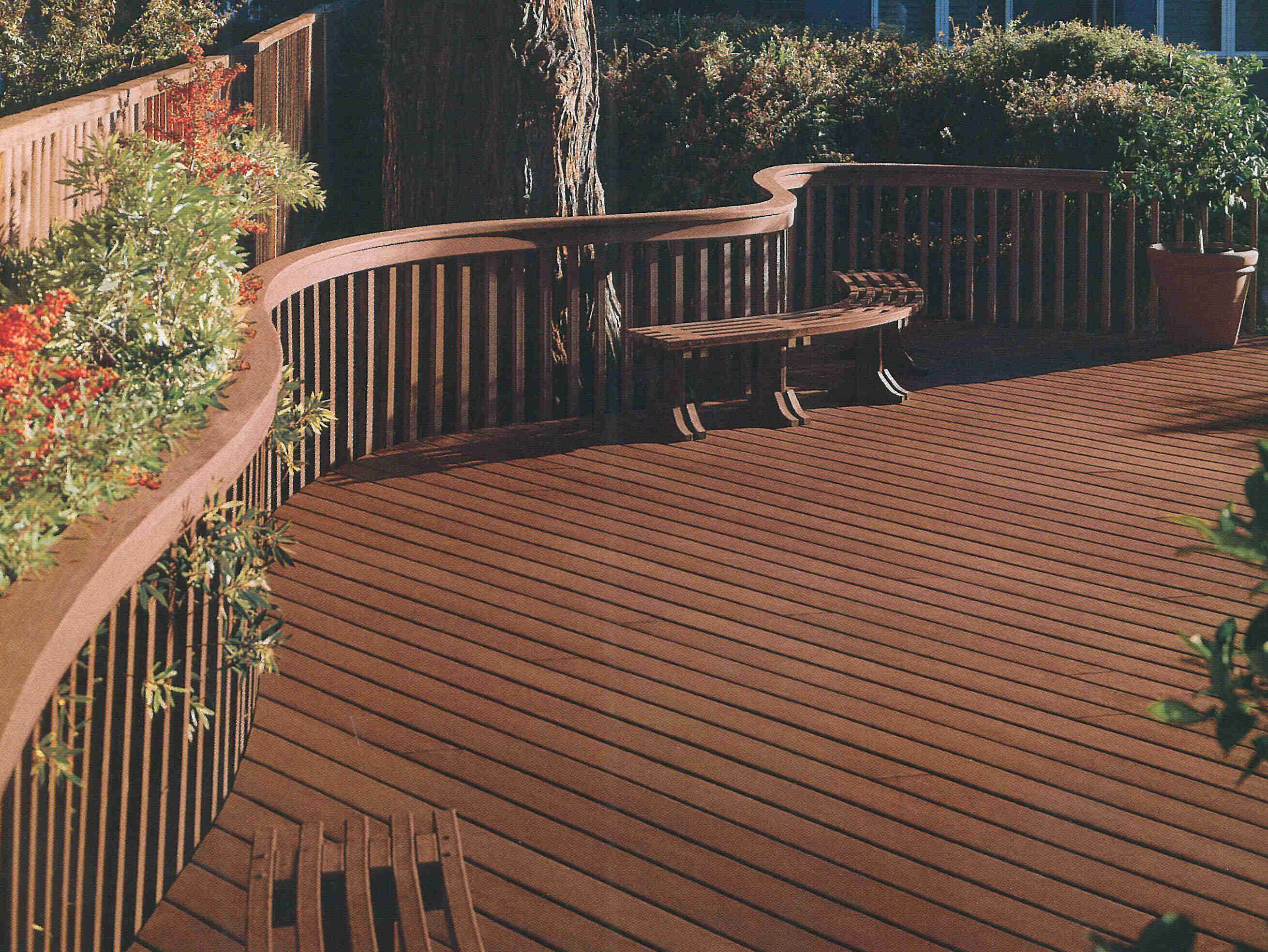 Wooden Or Composite Decking Decks Ideas with size 2621 X 1968