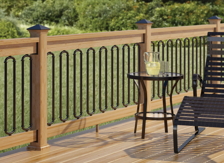 Rod Iron Deck Railing Ideas • Decks Ideas