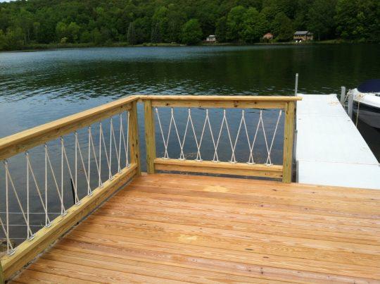 Permalink to Nautical Rope Deck Railing