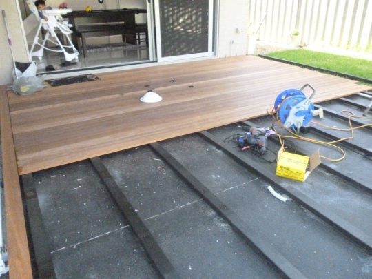 Permalink to Composite Decking Over Concrete Porch