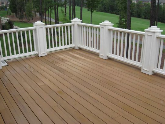 Permalink to Re Staining Trex Decking