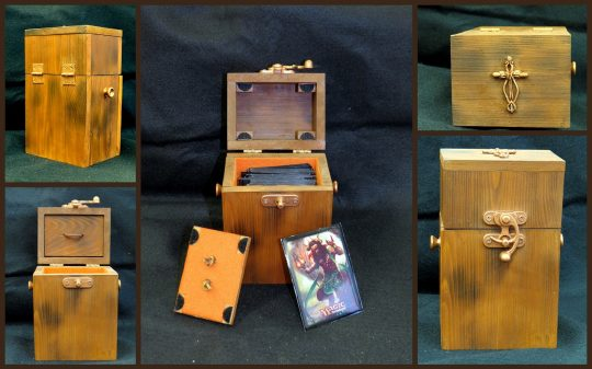 Permalink to Custom Wood Mtg Deck Boxes