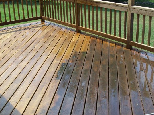 Permalink to Power Washing And Sealing A Wood Deck