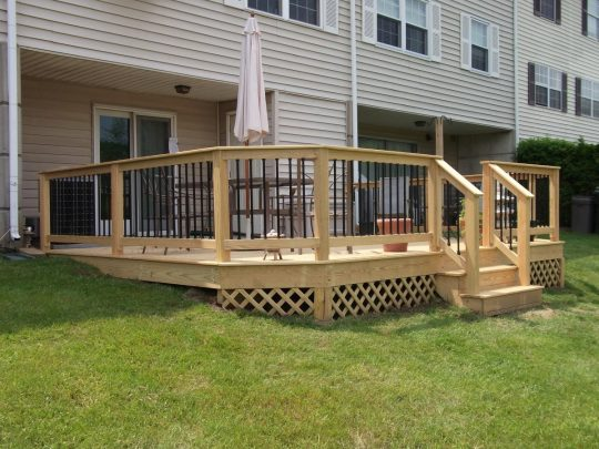 Permalink to Wood Handrails For Decks