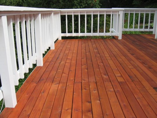Permalink to Staining New Pressure Treated Wood Deck