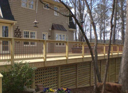 Permalink to Long Fence Decks