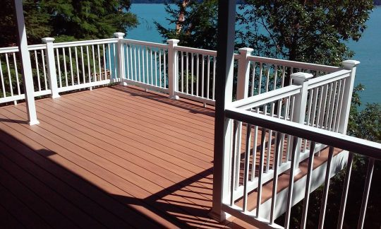Permalink to Wolf Capped Composite Decking