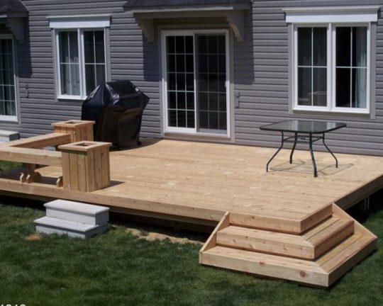Permalink to Simple Platform Deck Plans