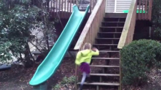 Permalink to Playground Slide Off Deck