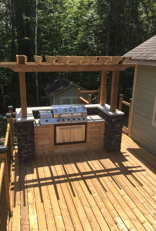 Permalink to Built In Grill On Deck