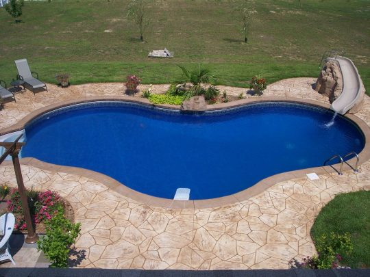 Permalink to Concrete Pool Deck Ideas For Inground Pools