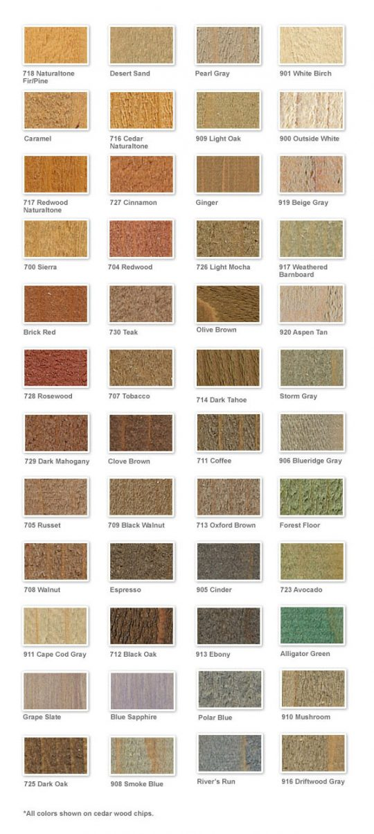 Permalink to Ppg Deck Stain Color Chart