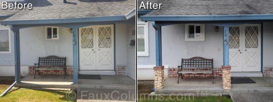 Permalink to Decorative Deck Post Wraps