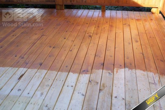Permalink to Staining An Old Pressure Treated Deck