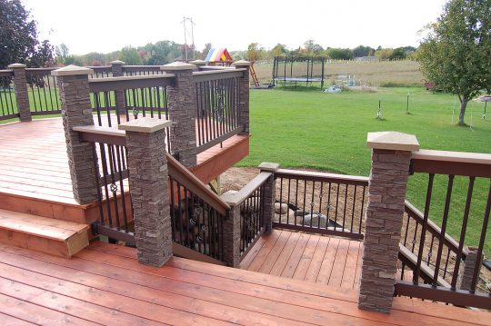 Permalink to Stone Deck Post Wraps